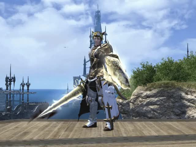 Watch and share Ff14 GIFs by looneymarauder on Gfycat