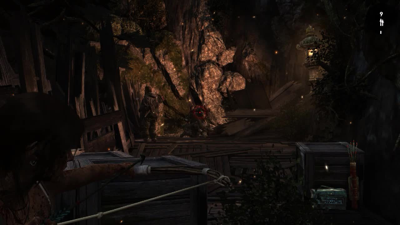 60fpsgaminggifs, [Tomb Raider] Lara Croft, all sneaky beaky like. (reddit) GIFs