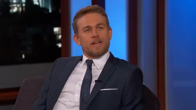 Watch Guest Host Kristen Bell Interviews Charlie Hunnam GIF on Gfycat. Discover more Jimmy, cat, clip, comedian, comedic, comedy, funny, heartbreak, motorcycle GIFs on Gfycat