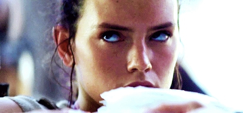 daisy ridley, star wars, star wars the force awakens, the force awakens, the force awakens rey | rey star wars gif John Boyega swedit daisy ridley The Force Awakens ... GIFs