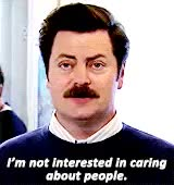 Watch and share Nick Offerman GIFs and Parks And Rec GIFs on Gfycat