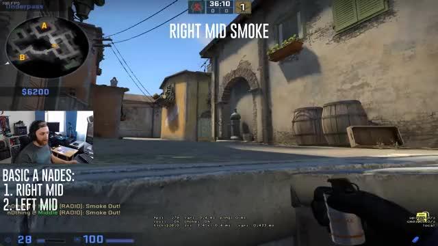 Right Mid Smoke