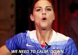 Watch and share Alex Morgan GIFs and Calm Down GIFs on Gfycat