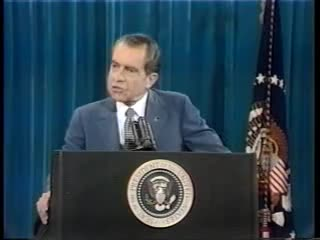 "Watch Richard Nixon - ""I'm not a crook"" GIF by @slipperyhpyu6 on Gfycat. Discover more Nixon, Richard, Watergate, conference, crook, news, press, scandal GIFs on Gfycat"
