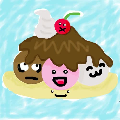 Watch Ice Cream Sundae Animation by PartiNEko GIF on Gfycat. Discover more related GIFs on Gfycat