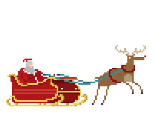 Watch and share Santa Claus Animated Gif GIFs on Gfycat