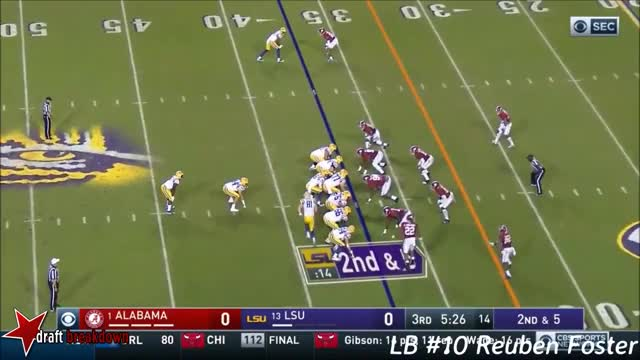 Watch and share Reuben Foster Vs Lsu(2016) GIFs on Gfycat