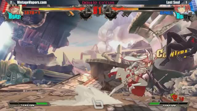 Watch and share Next Level Battle Circuit 154 - GGXRD - WF - BT VV MarlinPie (Zato) Vs Lost Soul (Elphelt) GIFs on Gfycat