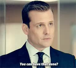 Watch and share Harvey Specter GIFs and Harvey X Donna GIFs on Gfycat