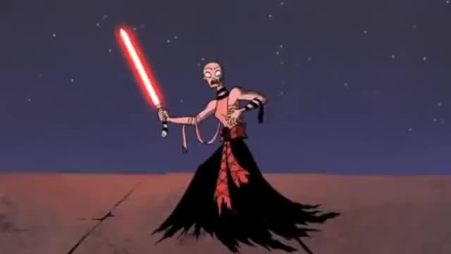 Watch and share Asajj Ventress VS Anakin Skywalker GIFs by KrleAvenger on Gfycat