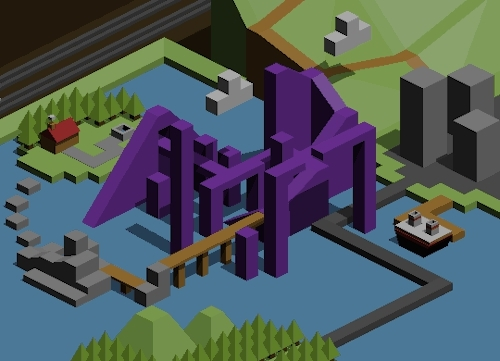 3d modelling, aesthetic, animation, isometric, low-poly, Jordanimations GIFs