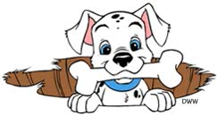 Watch and share Dalmatian Puppy animated stickers on Gfycat
