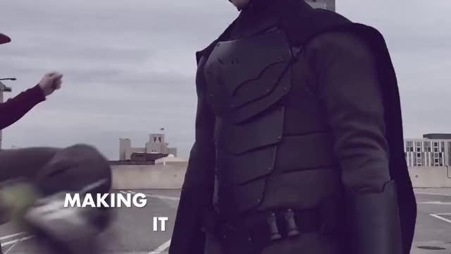 Watch Badass Handmade Batman Suit GIF by Meme GIFs (@jlewpep) on Gfycat. Discover more batman, handmade, resistant GIFs on Gfycat