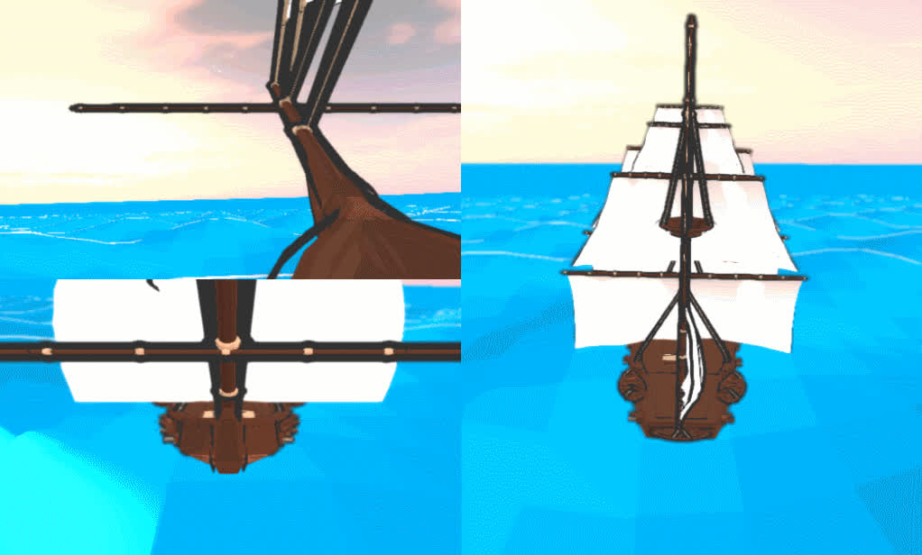 Good Water - Low Poly Demo GIFs