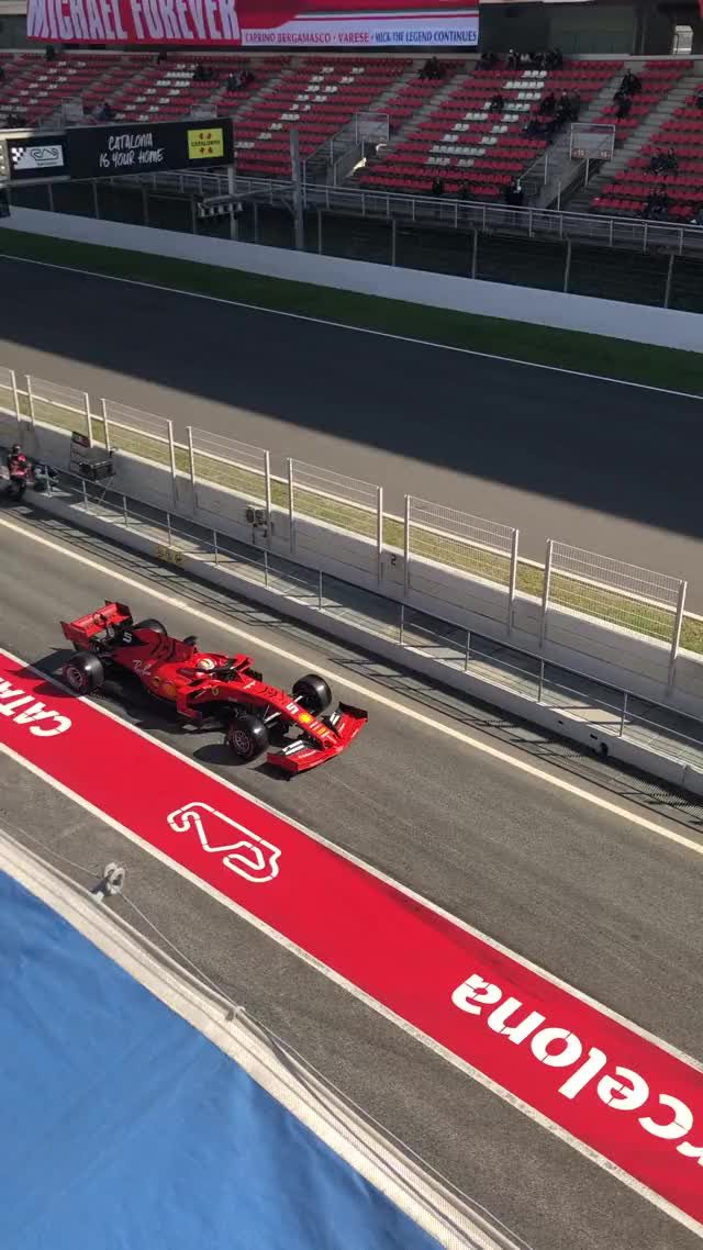 Watch and share SF90 Barcelona Testing 3/1 GIFs by camel73 on Gfycat