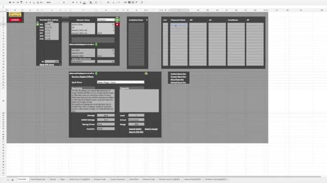 Watch D&D 5e Spreadsheet Features GIF on Gfycat. Discover more D&D, Spreadsheet GIFs on Gfycat