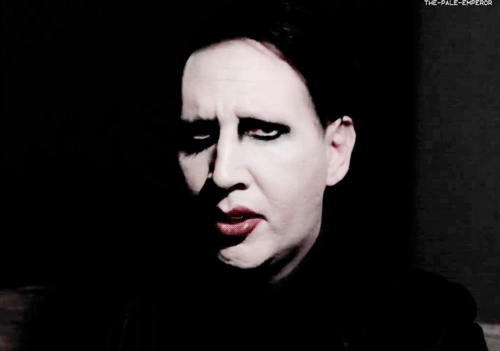 2014, interview, marilyn manson, nme, the pale emperor, The Pale Emperor GIFs