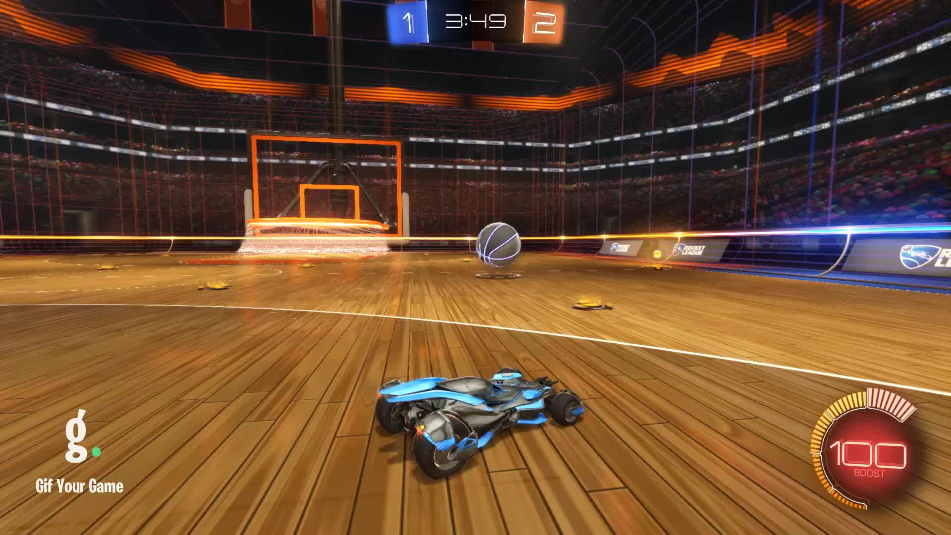 Gif Your Game, GifYourGame, Goal, Rocket League, RocketLeague, Stuffed Mushrooms, Goal 4: Stuffed Mushrooms GIFs