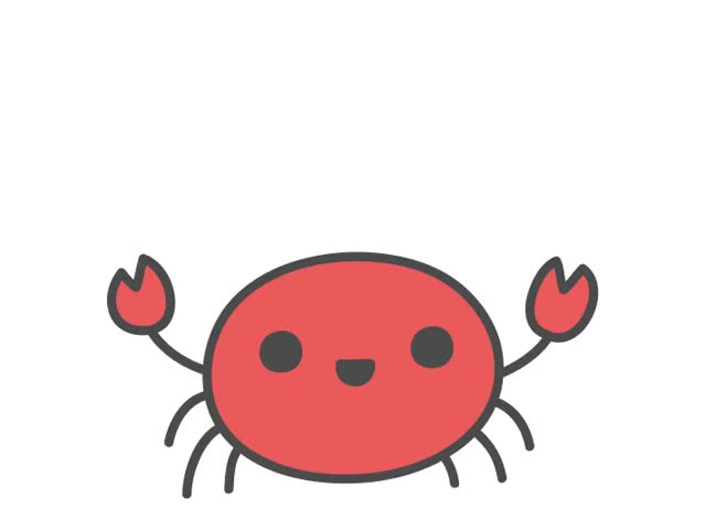 Watch and share Crabby Crab GIFs on Gfycat