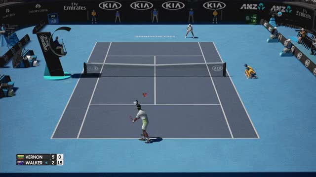 Watch and share Ao-tennis-when-it-works GIFs on Gfycat