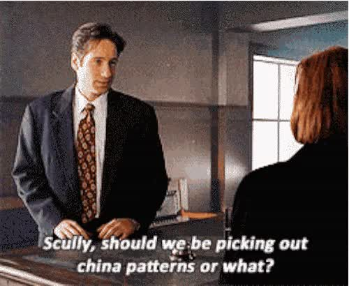 Watch flirt scully GIF on Gfycat. Discover more related GIFs on Gfycat