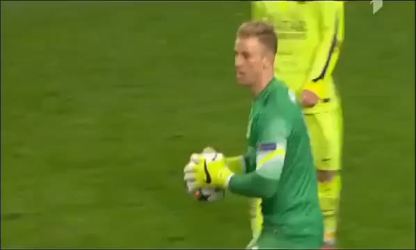 Watch and share Messi Vs Hart :D--Manchester City1-2Barcelona/2/25/15 (reddit) GIFs on Gfycat