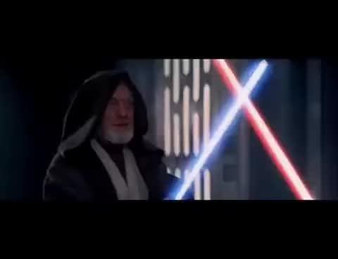 Movie Quotes If You Strike Me Downstar Wars Iv Gif Find Make