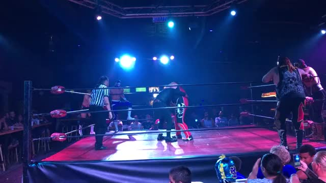 Watch Beautiful GIF by Blaze Inferno (@metaknightxprophets) on Gfycat. Discover more Beautiful, Chimaera, Cool, Lucha is beautiful, Wrestling, cmll, mexico GIFs on Gfycat