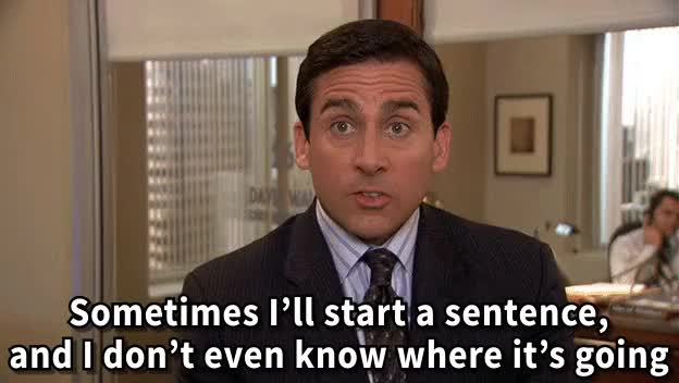 Watch and share Michael Scott Quote GIFs on Gfycat
