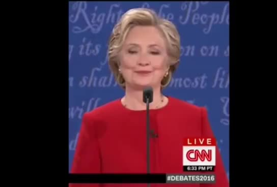 Watch and share Clinton GIFs and Trump GIFs on Gfycat