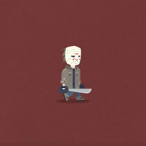 Watch and share Gif Horror Character GIFs By Baboon Creation For GIFs on Gfycat