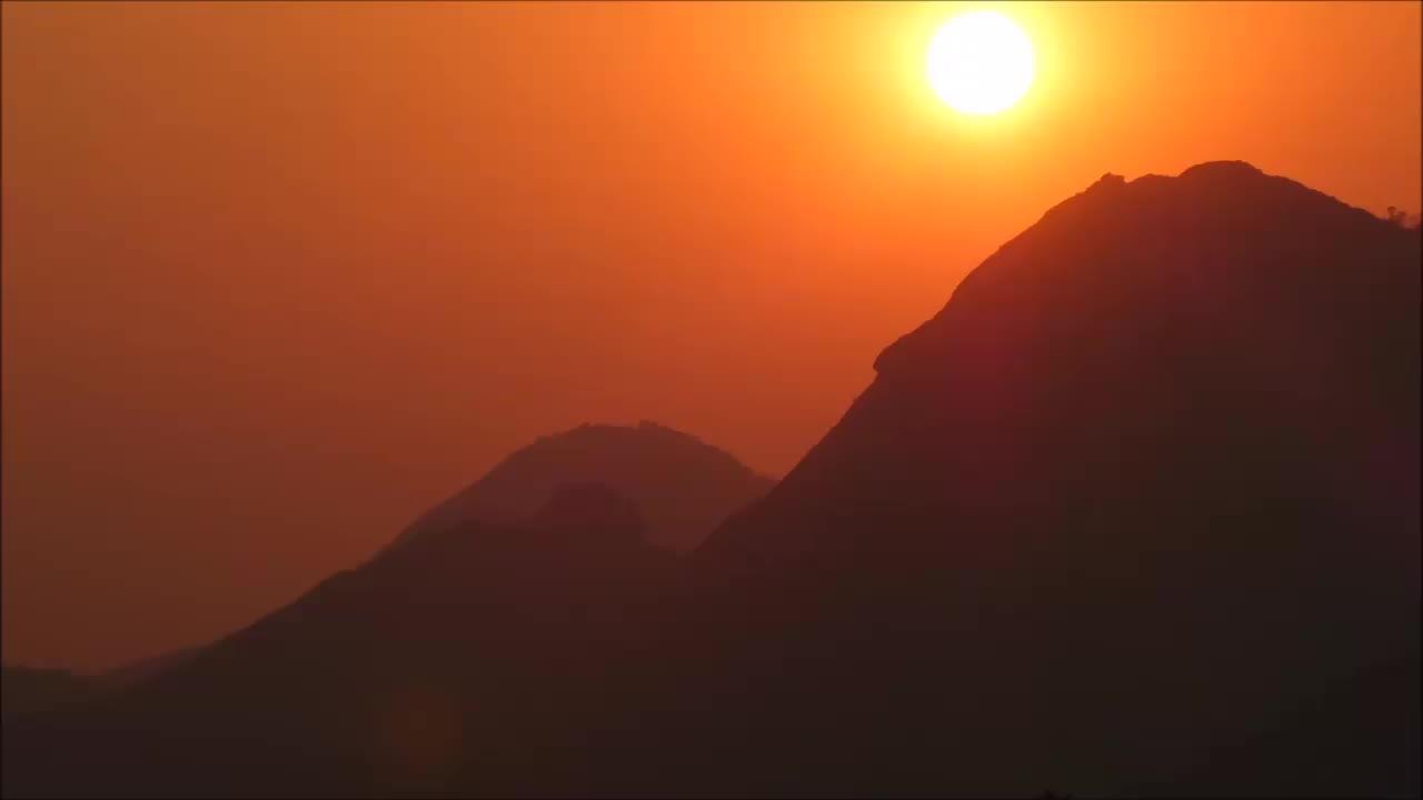 dusk, mountain, mountains, murahwa mountain, mutare, nature, sun, sunny, sunset, time-lapse, zimbabwe, Murahwa Mountain Sunset, Mutare GIFs