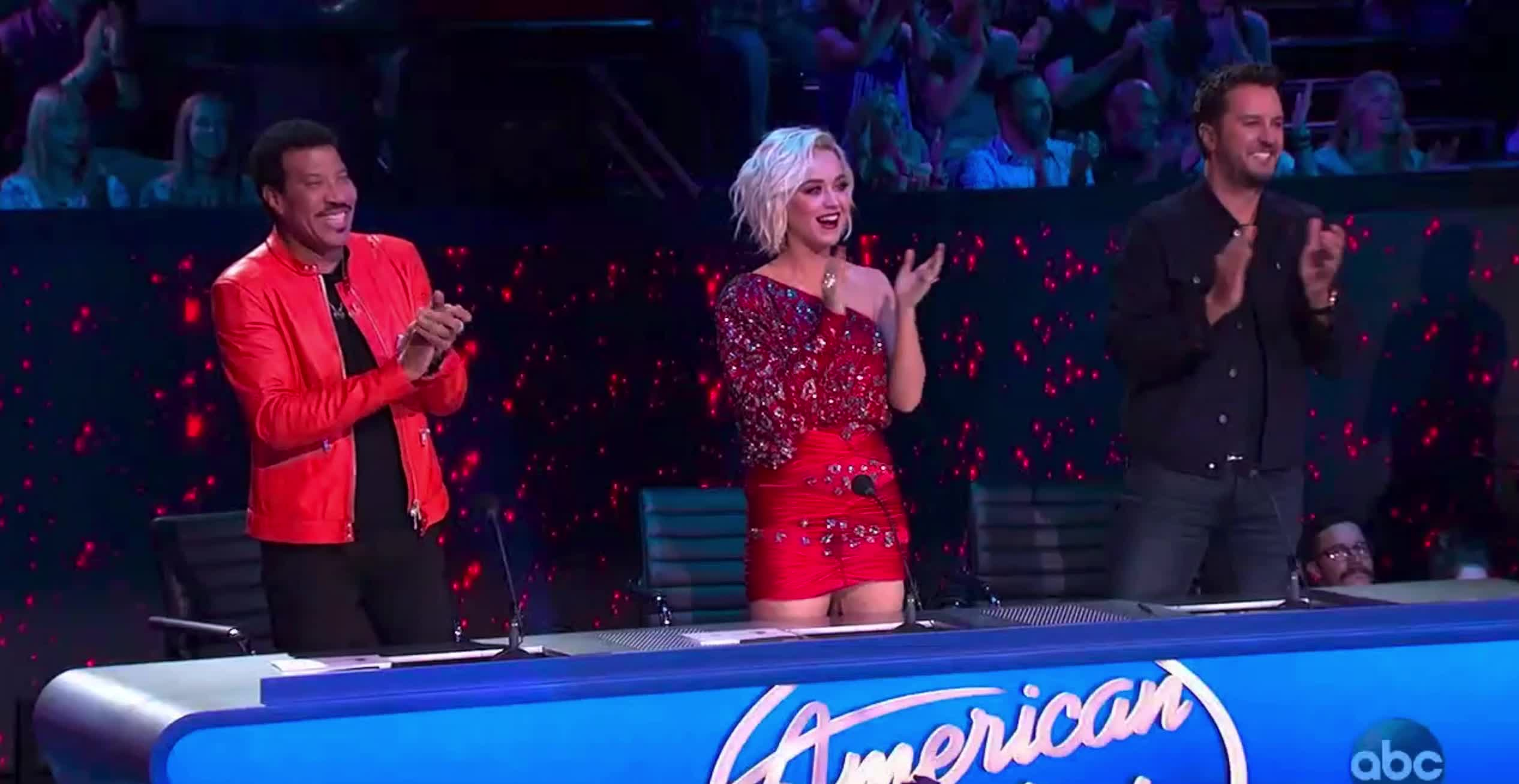american idol, american idol season 17, americanidol, applause, clap, clapping, katy perry, lionel richie, luke bryan, ryan seacrest, season 17, American Idol The Judges Clapping GIFs