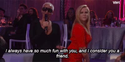 Watch and share Gif Of Amy Schumer And Amber Rose GIFs on Gfycat