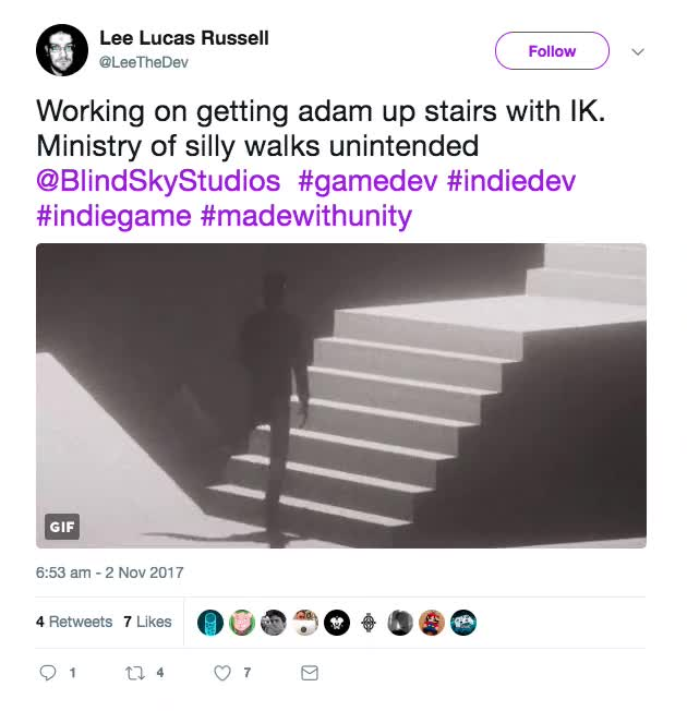 Watch and share Silly Walks.mov GIFs by alicefromairconsole on Gfycat