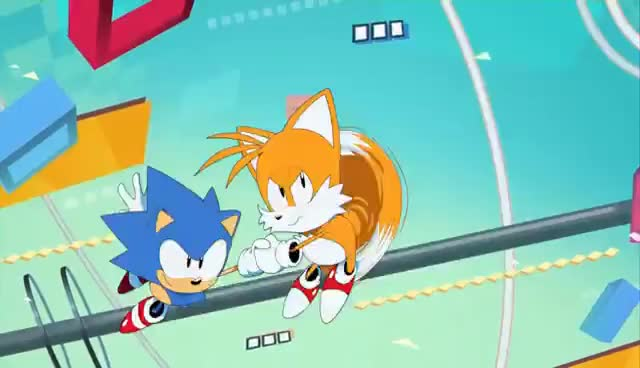 Watch and share Sonic Mania - Opening Animation GIFs on Gfycat