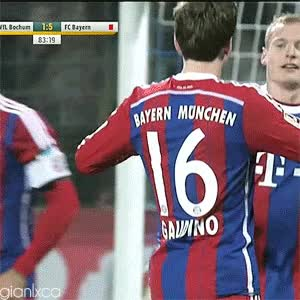 "Watch and share "" Gianluca Gaudino Against VfL Bochum • January 23, 2015 "" GIFs on Gfycat"