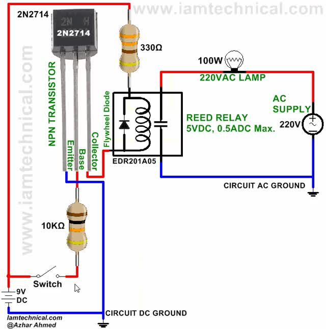 Watch Transistor 2N2714 Switching Reed Relay EDR201A05 GIF on Gfycat. Discover more related GIFs on Gfycat