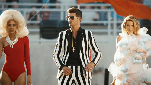 robin thicke, Music GIFs