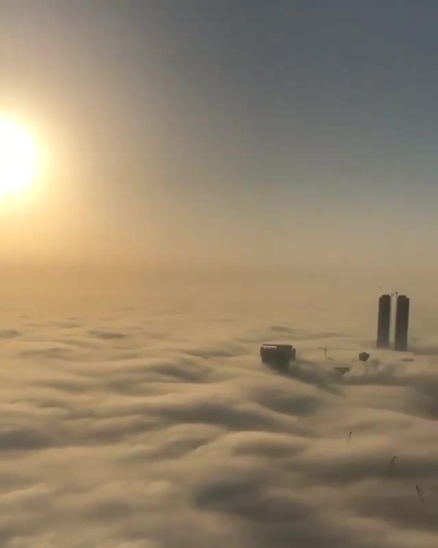 dubai from the top of a sky scraper GIFs