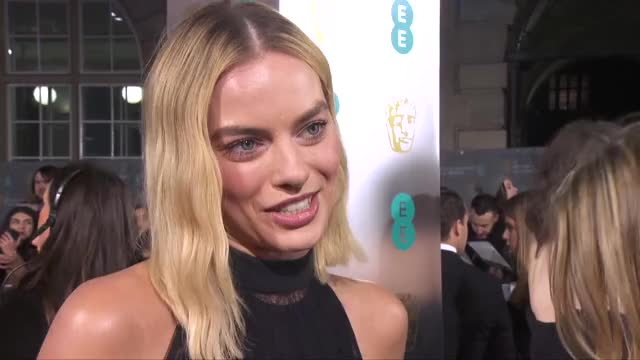Watch and share Movie Interview GIFs and Margot Robbie GIFs on Gfycat