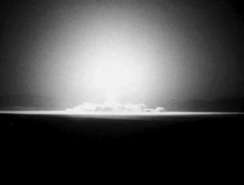 """Watch The Outer Limits,""""The Architects of Fear"""" GIF on Gfycat. Discover more The Architects of Fear, explosion, gif, my gif, nuclear bomb, nuke, television, the outer limits, vintage, vintage television GIFs on Gfycat"""