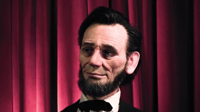 Watch Lifelike Animatronic Abraham Lincoln! GIF on Gfycat. Discover more abraham lincoln, animation, animatronics, disney, garner holt, realistic, robotics, robots, tested, testedcom GIFs on Gfycat
