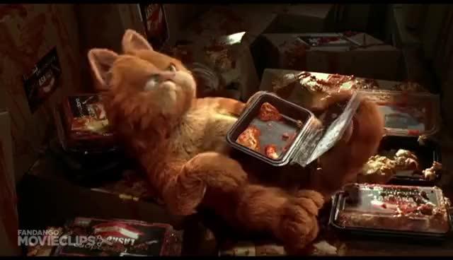 Watch Garfield: Saved By Lasagna GIF on Gfycat. Discover more Cat, Garfield, Lasagna, Saved GIFs on Gfycat