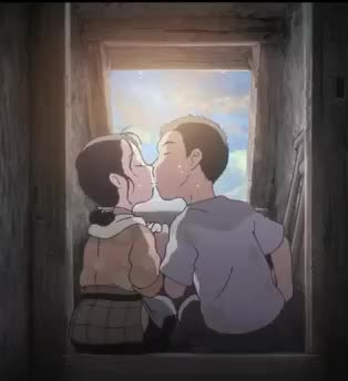 Watch this in this corner of the world GIF by Grower of GIFs (@gifgrower) on Gfycat. Discover more In this Corner of the World, anime, aww, corner, couple, in, in this corner of the world, kiss, love, of, the, this, world GIFs on Gfycat