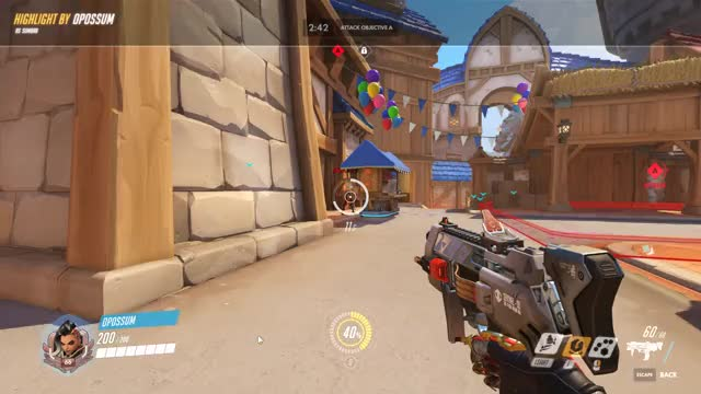 Watch and share Blizzard World Hitbox Bug GIFs by oppium on Gfycat