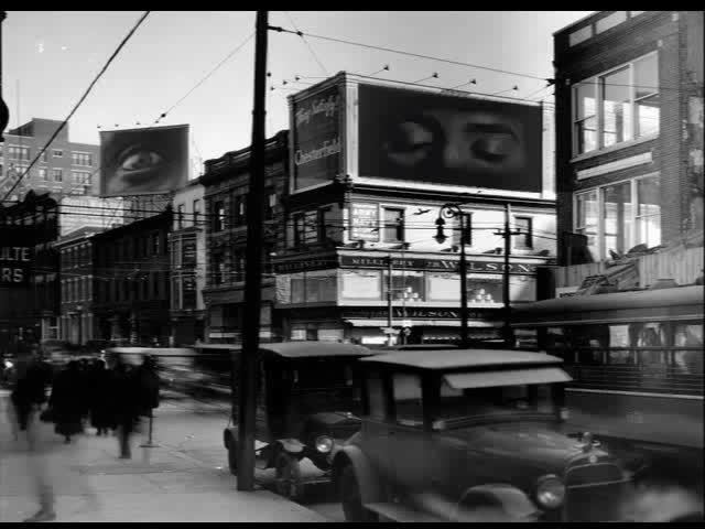 Watch Watching State and Broad Street (1922) Gif By Marc Rodriguez GIF by Marc Rodriguez (@marcrodriguez) on Gfycat. Discover more 1920s, Marc Rodriguez, art, artwork, bizarre, blink, eye, eyeball, eyeballs, eyes, film, gif art, internet art, odd, photo, pop art, street, surreal, vintage, vintage gif GIFs on Gfycat