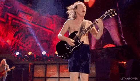 Watch and share AC/DC Images ☆ AC/DC ☆ Angus Wallpaper And Background Photos GIFs on Gfycat