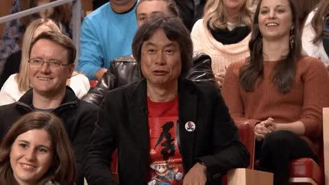 Watch and share Shigeru Miyamoto GIFs on Gfycat