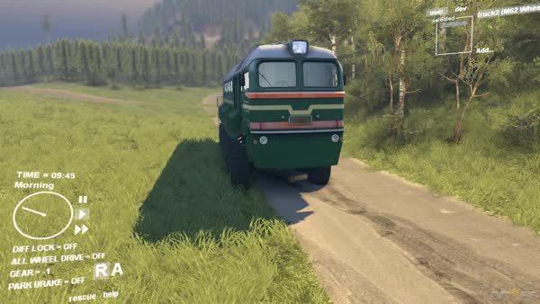 Spintires - Train Offroading (reddit) GIFs